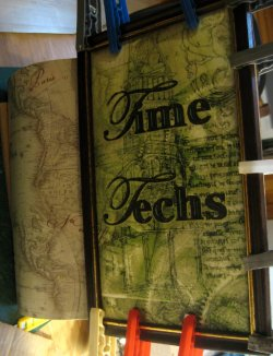 theinfill doll's house blog - adding dimensions to the Time Techs box