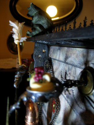 theinfill doll's house blog - every clock should have hands - the Time Techs