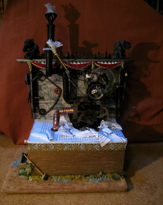 theinfill doll's house blog - steampunk style fantasy - Time Techs