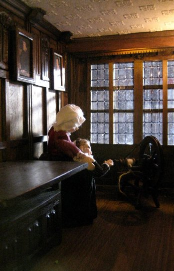 theinfill doll's house blog - Medieval/Tudor/Jacobean - 1:12 scale figures