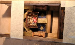 theinfill - Medieval to Jacobean dolls' house blog - building a 'hidden' chapel and related spaces