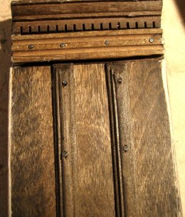theinfill - Medieval to Jacobean dolls' house blog - office/private sitting room door