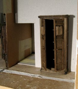 theinfill - Medieval to Jacobean dolls' house blog - trying to build a cupboard from scratch