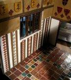 theinfill – the infill – Tudor, Elizabethan, Jacobean Dolls House Blog – Front Porch external brickwork