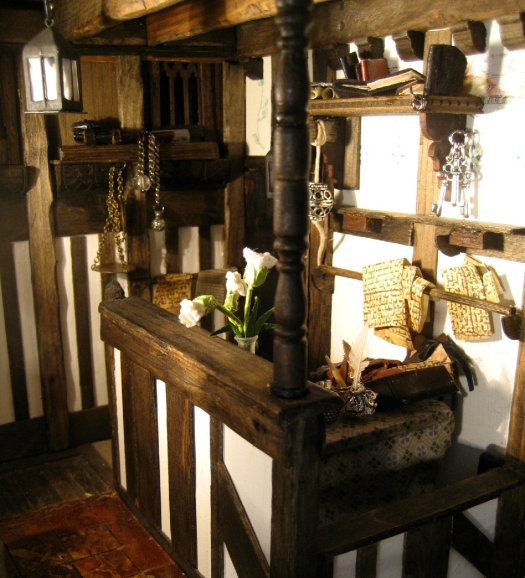 theinfill – the infill – Tudor, Elizabethan, Jacobean Dolls House Blog - tale of two offices - The Clerk's