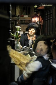 theinfill – the infill – Tudor, Elizabethan, Jacobean Dolls House Blog – Front Porch - retro-fitting lights - LEDs