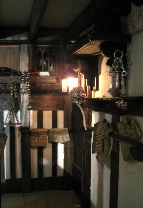 theinfill – the infill – Tudor, Elizabethan, Jacobean Dolls House Blog - tale of two offices - The Guild Master's