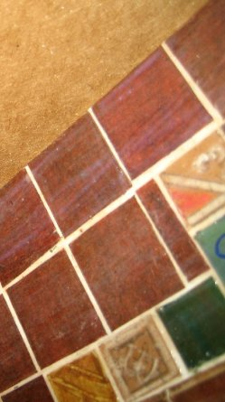 theinfill – the infill – Tudor, Elizabethan, Jacobean Dolls House Blog – Front Porch tiled floor