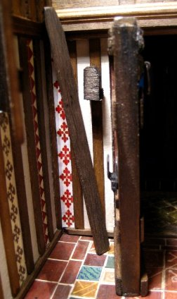 theinfill – the infill – Tudor, Elizabethan, Jacobean Dolls House Blog – Front Porch - the doors