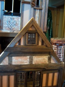 theinfill dolls house blog - the infill - Medieval, Tudor, Jacobean 1:12 dolls house - barred and glazed window
