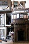 theinfill dolls house blog - the infill - Medieval, Tudor, Jacobean 1:12 dolls house - Porch gable end external