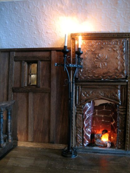 theinfill – the infill – Tudor, Elizabethan, Jacobean Dolls House Blog – Front Porch - walls and ceiling