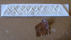 theinfill – the infill – Tudor, Elizabethan, Jacobean Dolls House Blog – Front Porch - experiment for interior panel