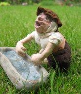 theinfill dolls house blog - the infill - Medieval, Tudor, Jacobean 1:12 dolls house - dressing homemade figure