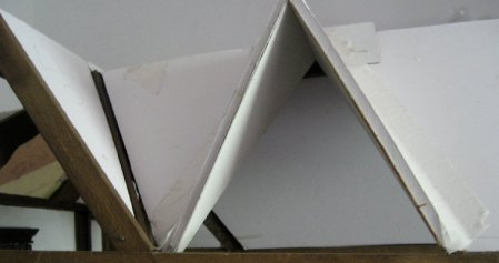theinfill dolls house blog - trying dormer on for size external