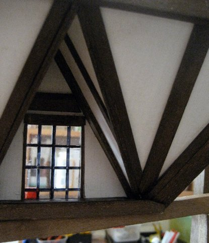theinfill dolls house blog - windowed and cilled