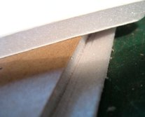 theinfill dolls house blog - types of foamboard for roof slopes