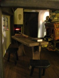 Angle makes space look crowded - theinfill dolls house blog
