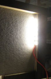 theinfill dolls house blog - side light from front along wall of left-hand bay