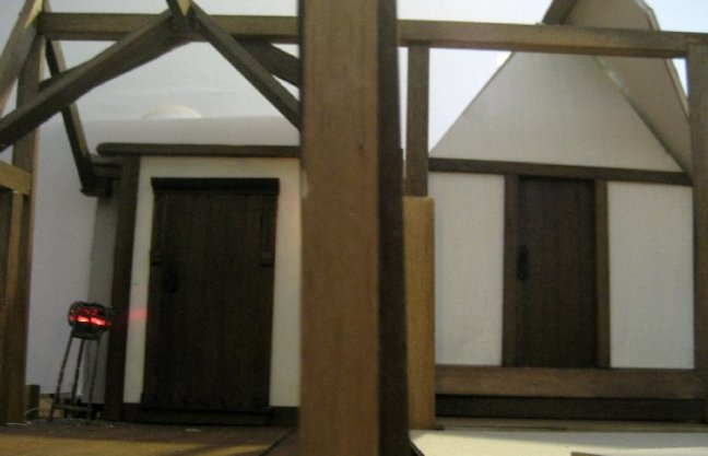 theinfill dolls house blog - central corridor other way on