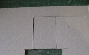 theinfill dolls house blog - wall building from scraps