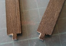 theinfill Medieval, Tudor, Jacobean 1:12 dolls house blog - the infill dolls house blog – cutting rough tenons