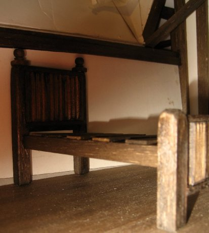theinfill Medieval, Tudor, Jacobean 1:12 dolls house blog - the infill dolls house blog – changed the decoration
