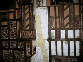 theinfill Medieval, Tudor, Jacobean 1:12 dolls house blog - the infill dolls house blog – standing back and viewing 1