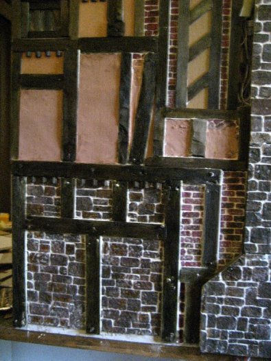 theinfill Medieval, Tudor, Jacobean 1:12 dolls house blog - the infill dolls house blog – substituting plaster for brickwork
