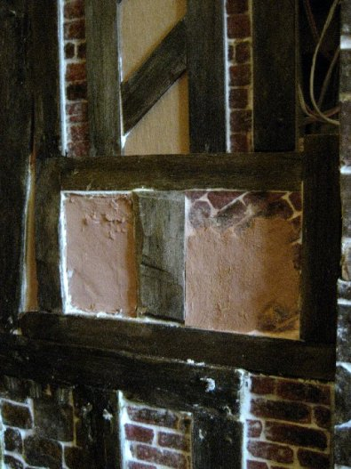 theinfill Medieval, Tudor, Jacobean 1:12 dolls house blog - the infill dolls house blog – some fallingand flaking plaster
