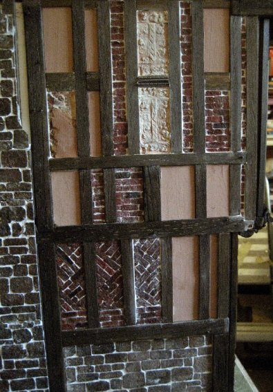 theinfill Medieval, Tudor, Jacobean 1:12 dolls house blog - the infill dolls house blog – some more plaster work less brick again