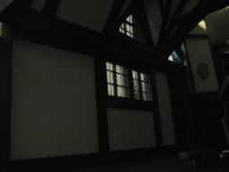theinfill Medieval, Tudor, Jacobean 1:12 dolls house blog - the infill dolls house blog – inside view schoolroom window