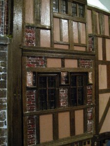 theinfill Medieval, Tudor, Jacobean 1:12 dolls house blog - the infill dolls house blog – added extra brick panels