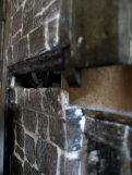 theinfill Medieval, Tudor, Jacobean 1:12 dolls house blog - the infill dolls house blog – chimney stack removable panel view of central where meets fixed section