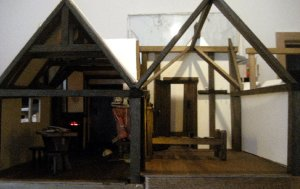 theinfill Medieval, Tudor, Jacobean 1:12 dolls house blog - the infill dolls house blog – 2 rooms on the go in attic front