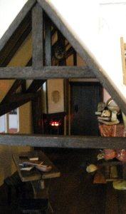 theinfill Medieval, Tudor, Jacobean 1:12 dolls house blog - the infill dolls house blog – Life on the beam for an owl