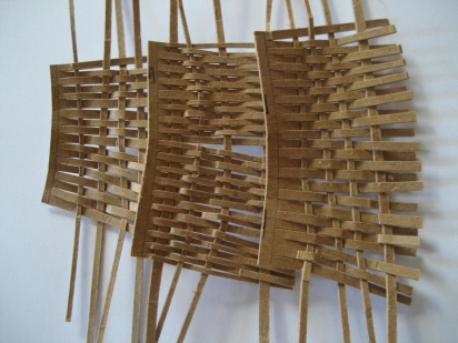 theinfill Medieval, Tudor, Jacobean 1:12 dolls house blog - the infill dolls house blog – 1 mm card strips woven panels