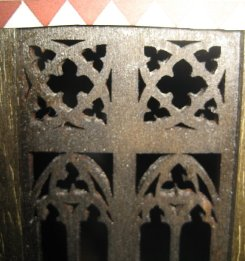 theinfill Medieval, Tudor, Jacobean 1:12 dolls house blog - the infill dolls house blog – an Angela Downton laser cut window
