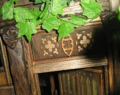 theinfill Medieval, Tudor, Jacobean 1:12 dolls house blog - the infill dolls house blog – an Angela Downton laser cut panel
