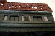 theinfill Medieval, Tudor, Jacobean 1:12 dolls house blog - the infill dolls house blog – possible decoration across the flat roof dormer