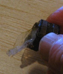 theinfill Medieval, Tudor, Jacobean 1:12 dolls house blog - the infill dolls house blog – balsa mini tub with plastic as backing for thrown 'water' effect