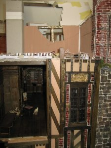 theinfill Medieval, Tudor, Jacobean 1:12 dolls house blog - the infill dolls house blog – low roof area over Long Gallery