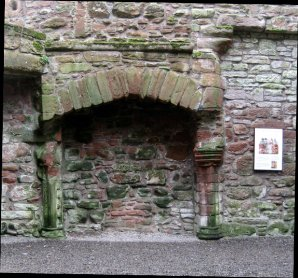 theinfill Medieval, Tudor, Jacobean 1:12 dolls house blog - the infill dolls house blog – stone fireplace surrounds from earlier period in Caerlaverock Castle