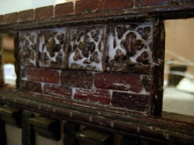 theinfill Medieval, Tudor, Jacobean 1:12 dolls house blog - the infill dolls house blog – adjusted panel shortened and with slots through 2