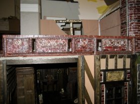 theinfill Medieval, Tudor, Jacobean 1:12 dolls house blog - the infill dolls house blog – adjusted panel shortened and with slots through 3