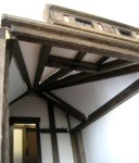 theinfill Medieval, Tudor, Jacobean 1:12 dolls house blog - the infill dolls house blog – infilling the spaces between beams with foamboard