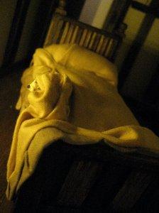 theinfill Medieval, Tudor, Jacobean 1:12 dolls house blog - the infill dolls house blog – reshaping single bedding