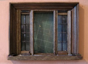 theinfill Medieval, Tudor, Jacobean 1:12 dolls house blog - the infill dolls house blog – building a window from bits stuck to the wall