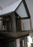 theinfill Medieval, Tudor, Jacobean 1:12 dolls house blog - the infill dolls house blog – right attic removable section