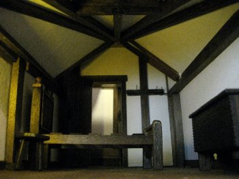 theinfill Medieval, Tudor, Jacobean 1:12 dolls house blog - the infill dolls house blog – the room to be decorated and dressed